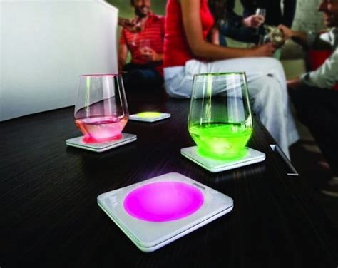 philips lumiware color changing coasters   perfect