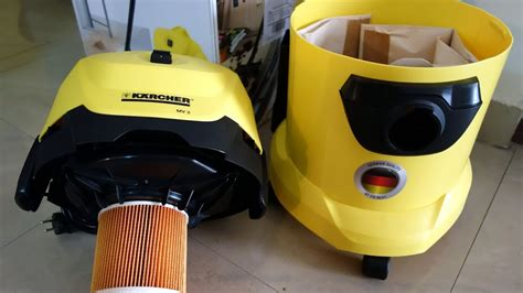 Vacuum Cleaner Karcher A2701 unboxing karcher wd3 mv3 1000 watt and vacuum