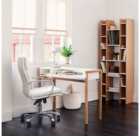 John Lewis Kitchen Design by The Stylish Oak White Farringdon Desk
