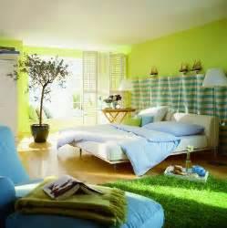 23 wonderful green interior design ideas