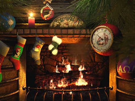 Fireplace Screensaver by Holidays 3d Screensavers Fireside Animated