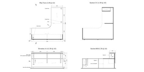 Help Desk Plan by Corporate Reception Counters Search Interior