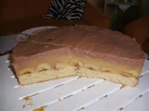 vanillepudding kuchen mit schokoglasur 17 bananentorte mit pudding rezepte kochbar de