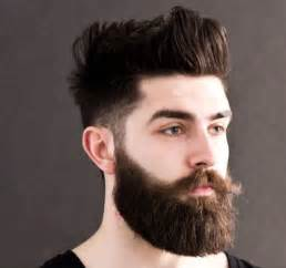 best hair styles to compliment a beard coolest hairstyles with full beards 2016 men s