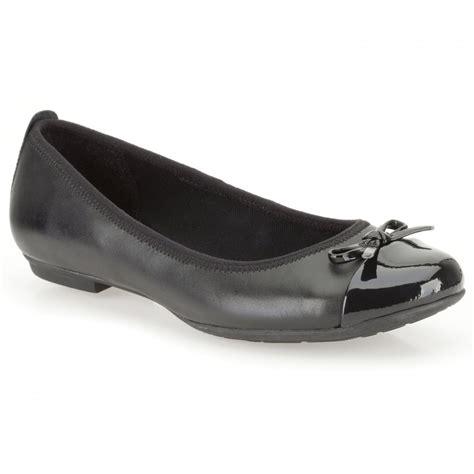 black slip on school shoes clarks una bl s slip on school shoe in black leather