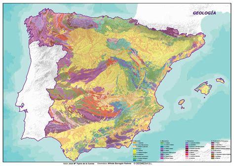 imagenes satelitales para geologia geolog 237 a de espa 241 a maplanos