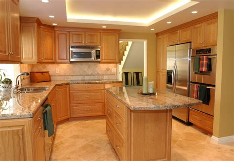 Natural Wood Kitchen Cabinets Mader Cabinet Co Cherry Cabinets Liverpool Style Doors