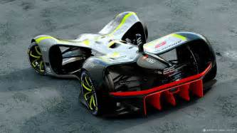 Electric Race Car Design Roborace Unveil Robocar World S Driverless