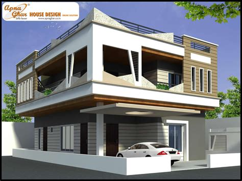 home design for duplex duplex house design apnaghar house design page 3