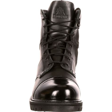 mens boots with zippers on the side rocky s side zipper jump boot ebay