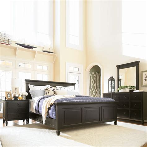 panel bedroom sets universal furniture summer hill panel bedroom set midnight atg stores