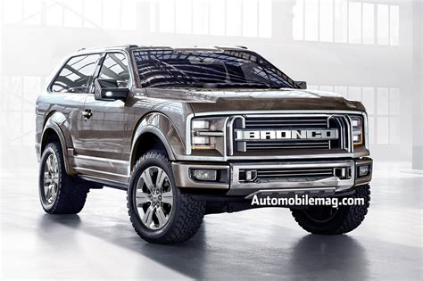Ford Bronco Ranger Set To Return Automobile Magazine