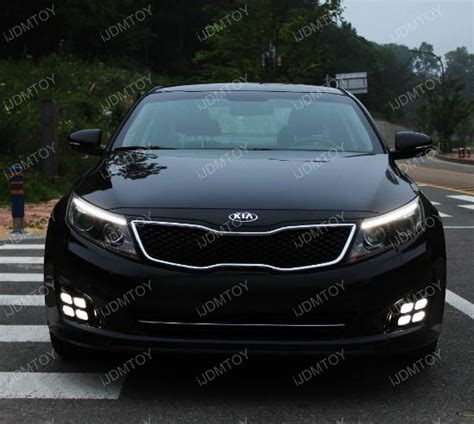 Kia Optima Led Running Lights Oem Style Kia Optima Led Daytime Running Light Ijdmtoy