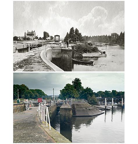 thames locks manned bbc london nature thames photos then now