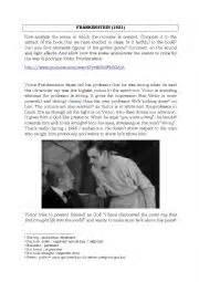 analysis of frankenstein movie english worksheets study of the movie frankenstein 1931