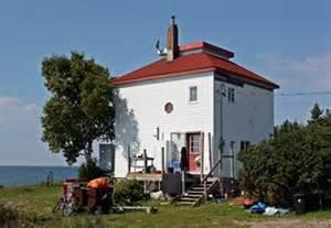 Corbeil Ontario Corbeil Point Lighthouse Ontario Canada At