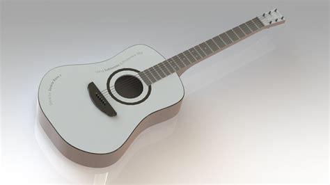 solidworks tutorial how to make guitar guitar step iges solidworks 3d cad model grabcad