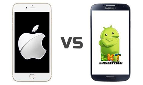 iphones vs android apple vs android 15 reasons why apple is better than android lowkeytech