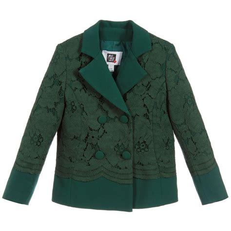 Lace Jacket Green made green lace jacket childrensalon