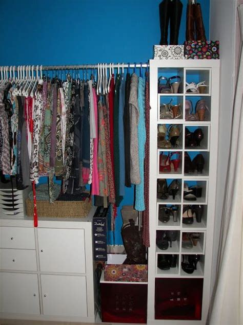 expedit shoe storage expedit walk in closet ikea hack idea great shoe