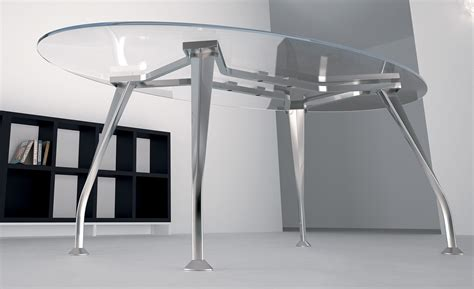 Glass Boardroom Tables Segno Oval Glass Boardroom Table 2000mm Table Reality
