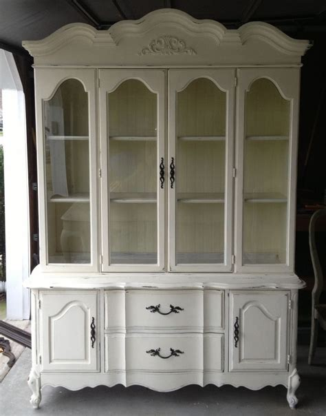french provincial china cabinet craigslist newlywed nesters annie sloan chalk paint china cabinet