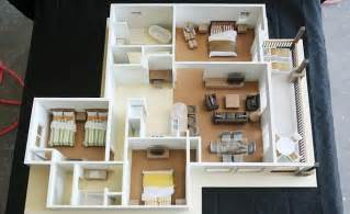 Three Bedroom Apartments by 3 Bedroom Apartment House Plans