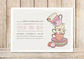 Free Bridal Shower Tea Invitation Templates bridal shower tea invitations template best