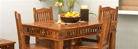 Dining Room Table Size by Natural Living Furniture Wooden Sheesham Hardwood