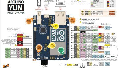 arduino yun pinout arduino circuitos planos