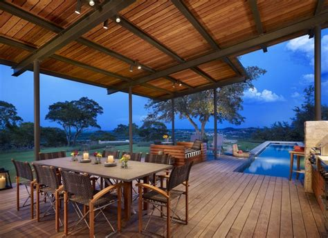 Kitchen Room Furniture story pool house by lake flato homedsgn