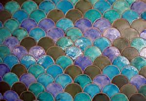 Fish scale tiles decorating ideas pinterest