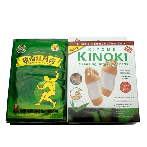 Foot Patch Detox Pantip by 32pcs Tiger Balm 10pcs Kinoki Detox Foot Pad