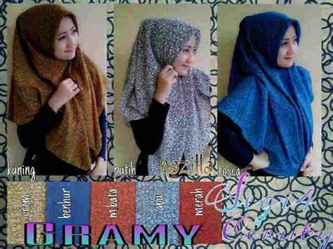 segi empat gramy toko jilbab modern jilbab murah grosir surabaya