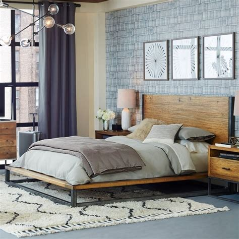 modern industrial bedroom eye candy industrial bedrooms with a modern twist curbly