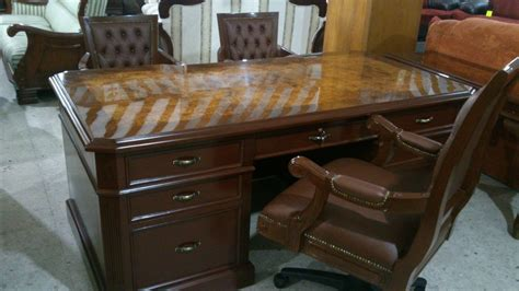 escritorio provenzal escritorio provenzal modelo lincoln en madera fina