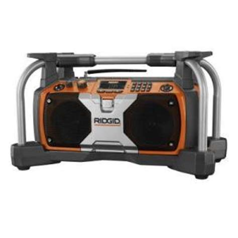 herculodge home depot selling the ridgid worksite radio