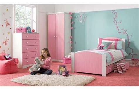 girls pink bedroom blue and pink little girl bedroom www rilane com modern