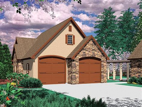 shop garage plans tandem garage plans four car tandem garage plan 034g