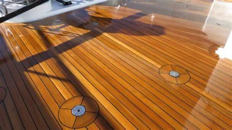 terrasse yacht teak decking superyacht