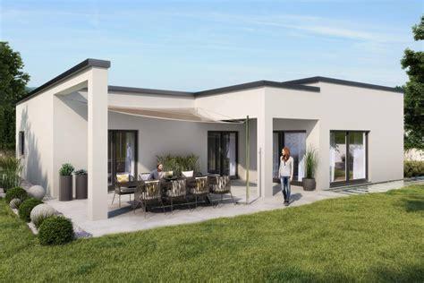 fertighaus verkaufen musterhaus bungalow modern loopele