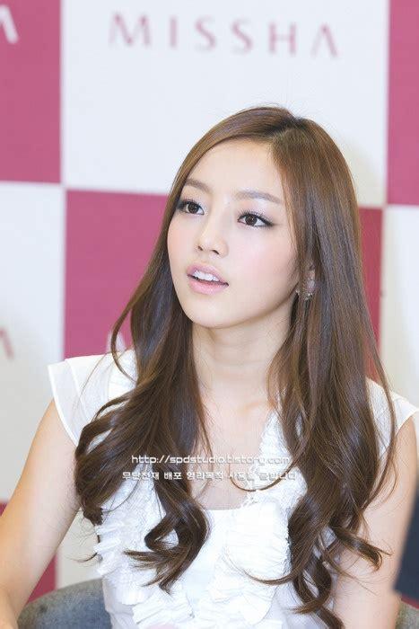 is it goo to cut hair with a razor goo hara makeup event korean make up pinterest goo