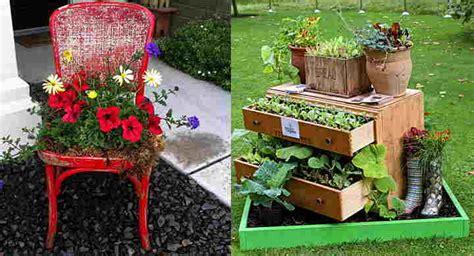 imagenes de jardines con objetos reciclados como hacer un jard 237 n con materiales reciclados