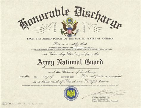 honorable discharge certificate template 28 honorable discharge certificate template