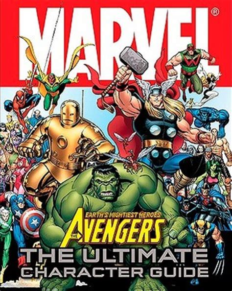 Marvel The Ultimate Character Guide Updated Expanded marvel the ultimate character guide by alan cowsill