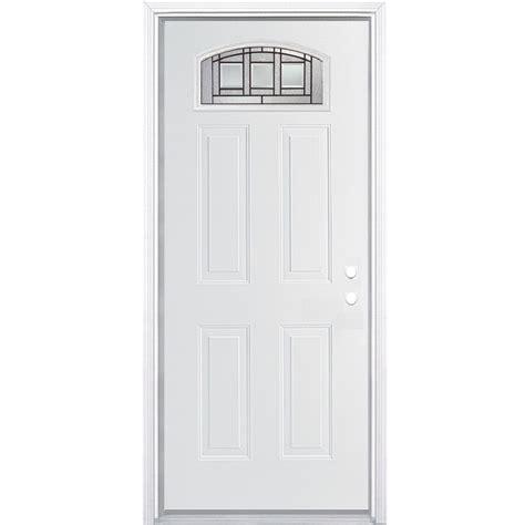 36 X 79 Exterior Door 36 X 79 Exterior Door Shop Prosteel 6 Panel Prehung Inswing Steel Entry Door Common 36 In X 80