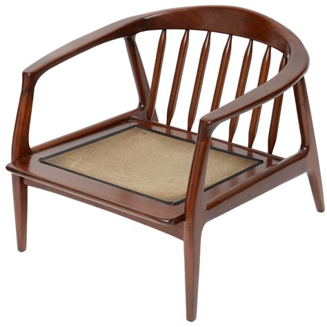 Spindle Arm Chair by Milo Baughman Wood Spindle Arm Chair At 1stdibs