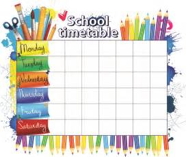 timetable creative chinese