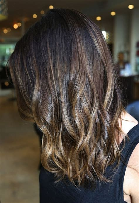a line with subtle balyage highlights hair balyage ombre hair inspiration to bring to the salon subtle