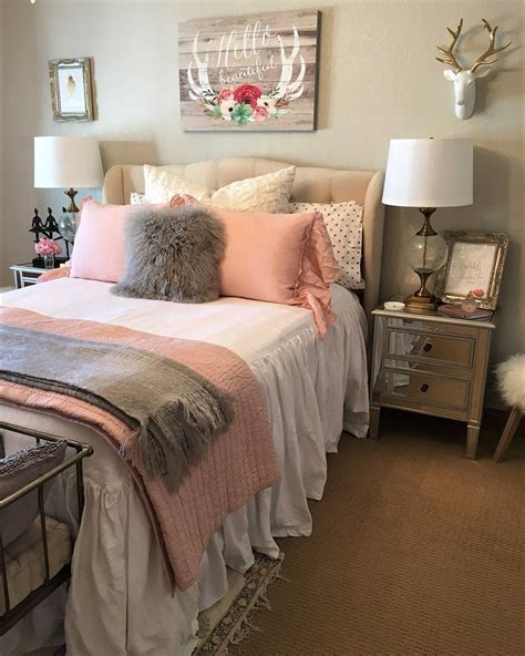 Pretty In Pink Our One by We Re Feeling Pretty In Pink With This Stunning Bedroom